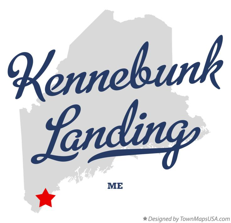 Map of Kennebunk Landing Maine ME