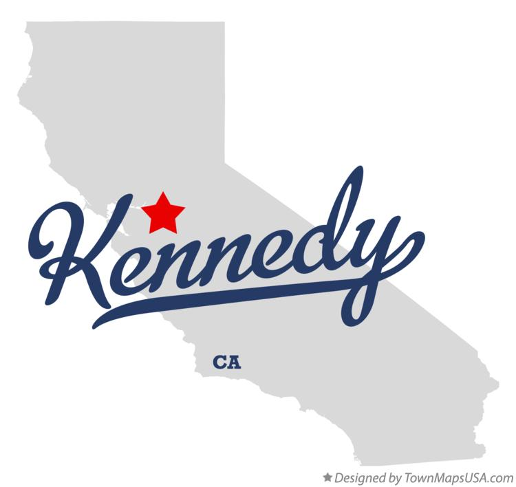 Map of Kennedy California CA
