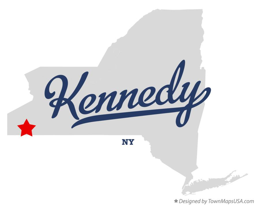 Map of Kennedy New York NY