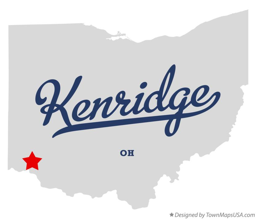 Map of Kenridge Ohio OH