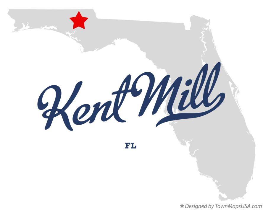 Map of Kent Mill Florida FL