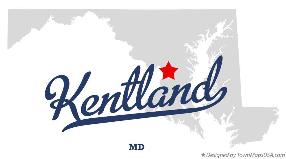 Map of Kentland Maryland MD