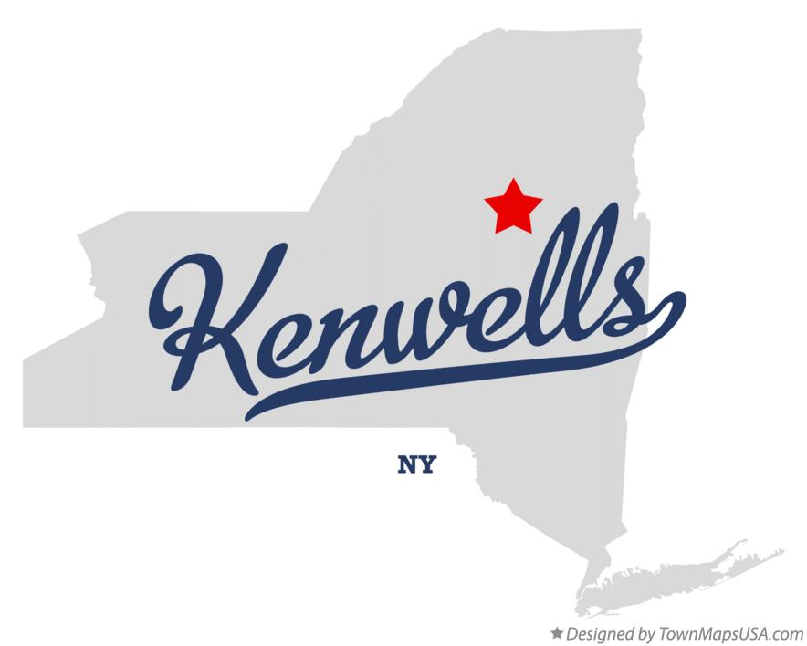 Map of Kenwells New York NY