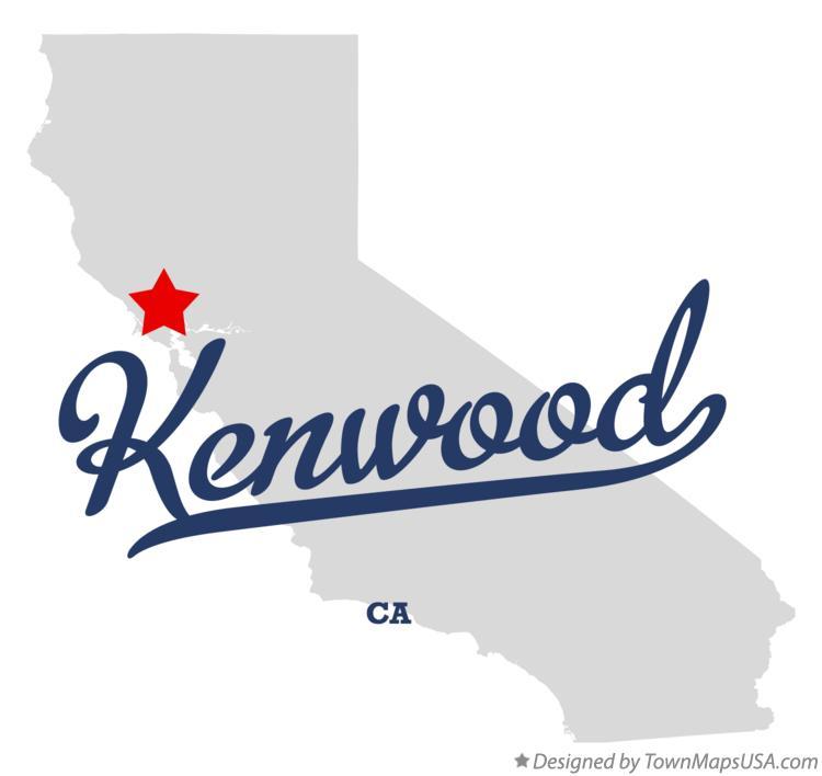 Map Of Kenwood Ca California