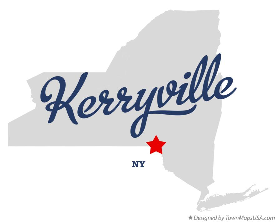 Map of Kerryville New York NY
