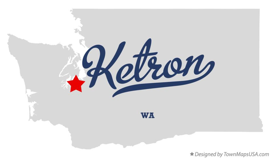 Map of Ketron Washington WA