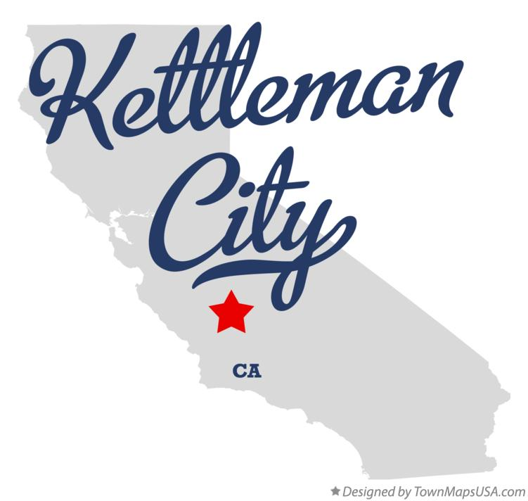 Map of Kettleman City California CA