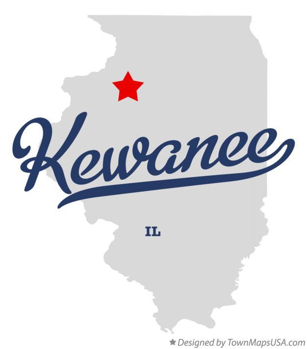 Kewanee Illinois Map.Map Of Kewanee Il Illinois