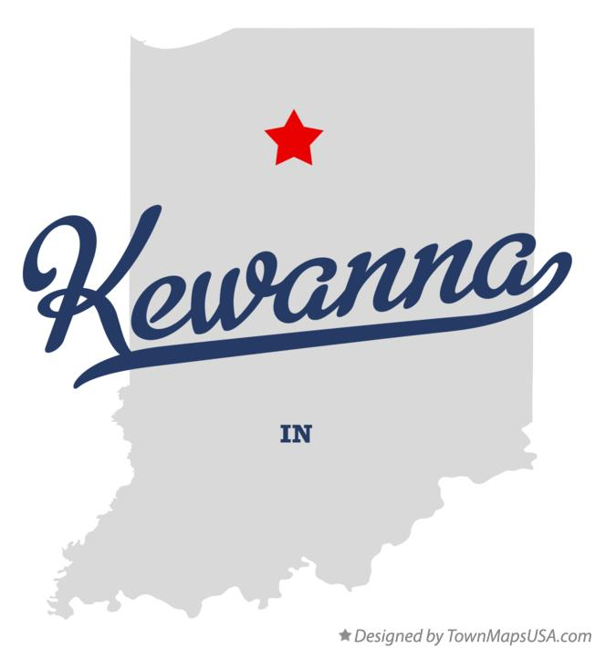 Map of Kewanna Indiana IN
