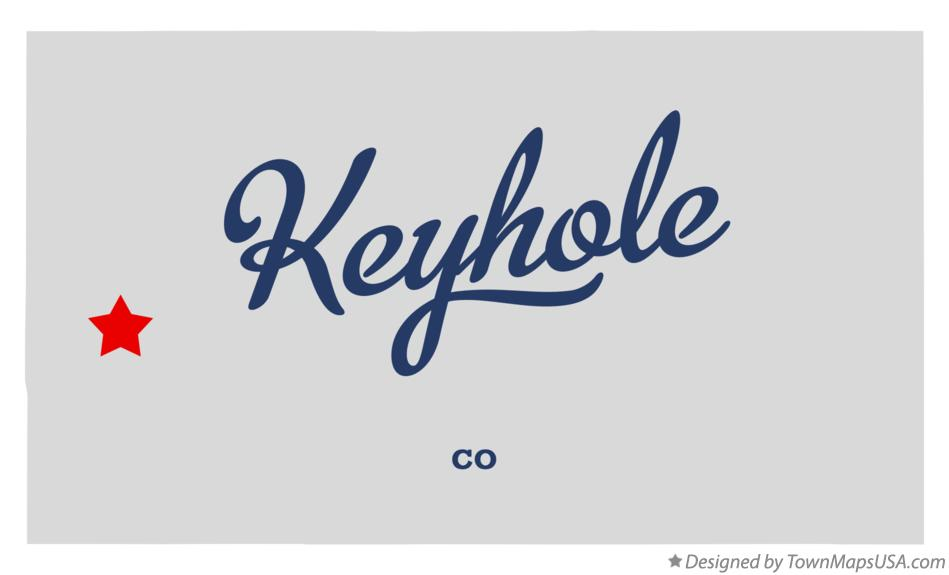 Map of Keyhole Colorado CO