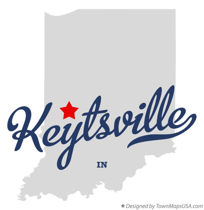 Map of Keytsville Indiana IN