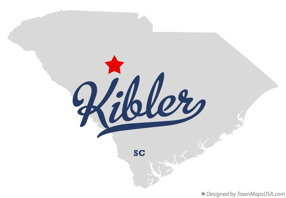 Map of Kibler South Carolina SC