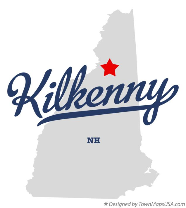 Map of Kilkenny New Hampshire NH