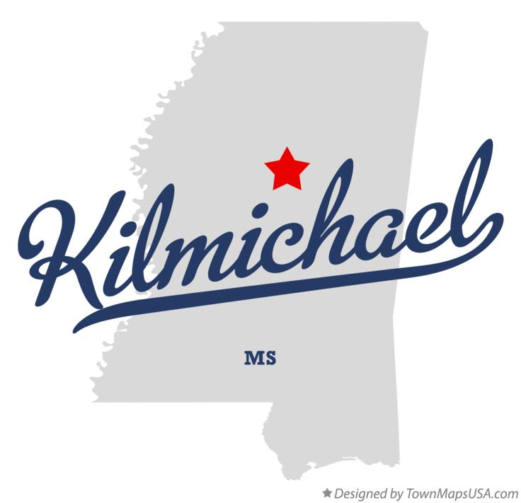 Map of Kilmichael Mississippi MS