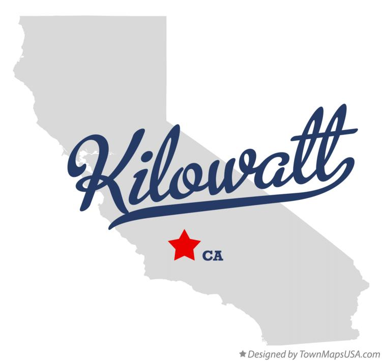 Map of Kilowatt California CA