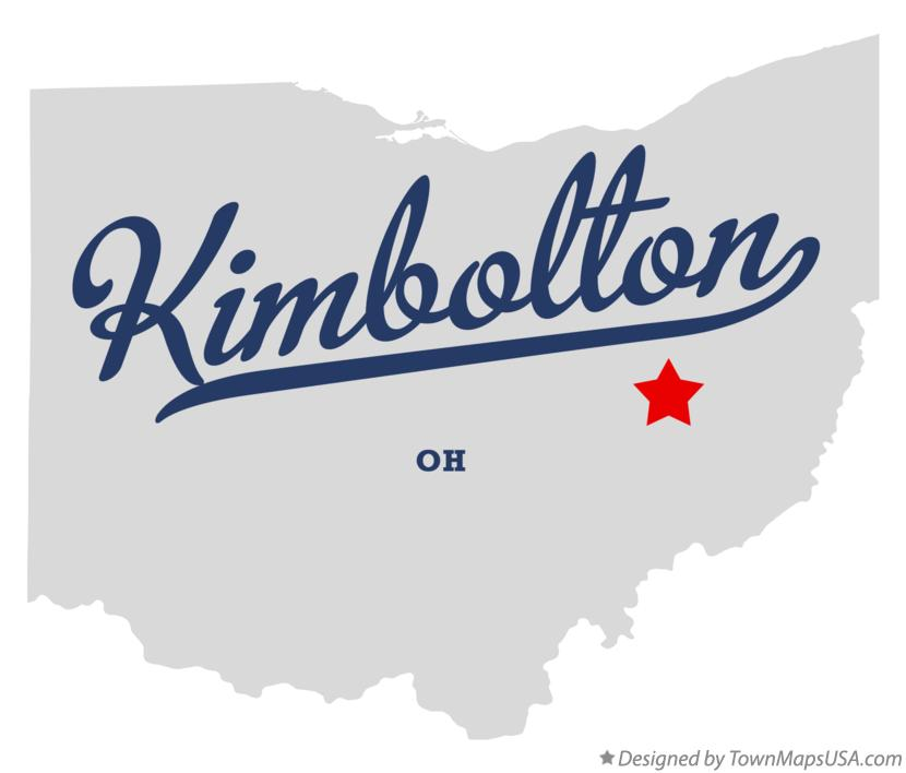 Map of Kimbolton Ohio OH