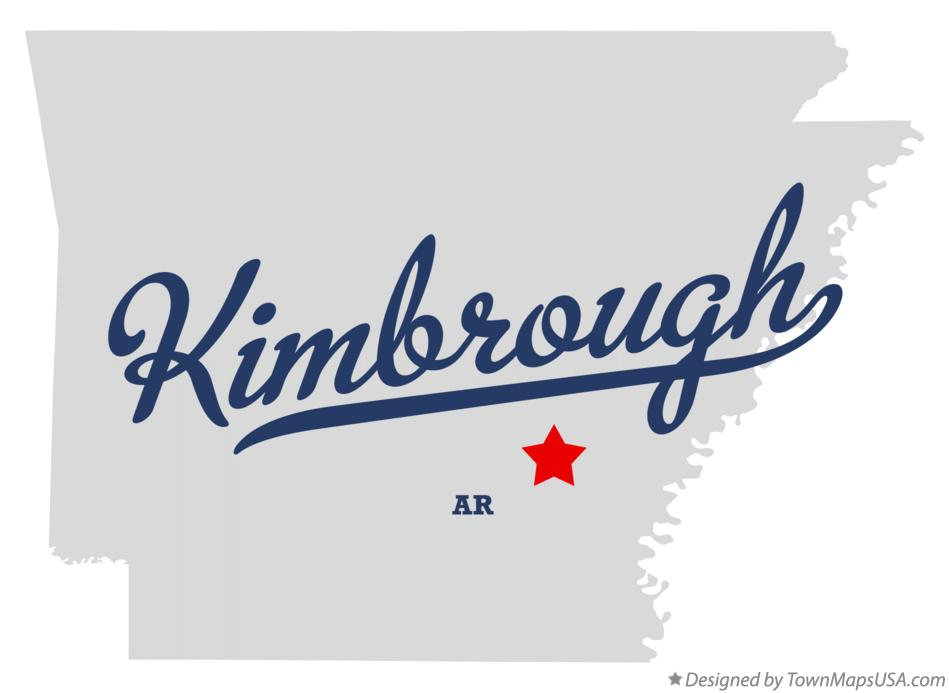 Map of Kimbrough Arkansas AR