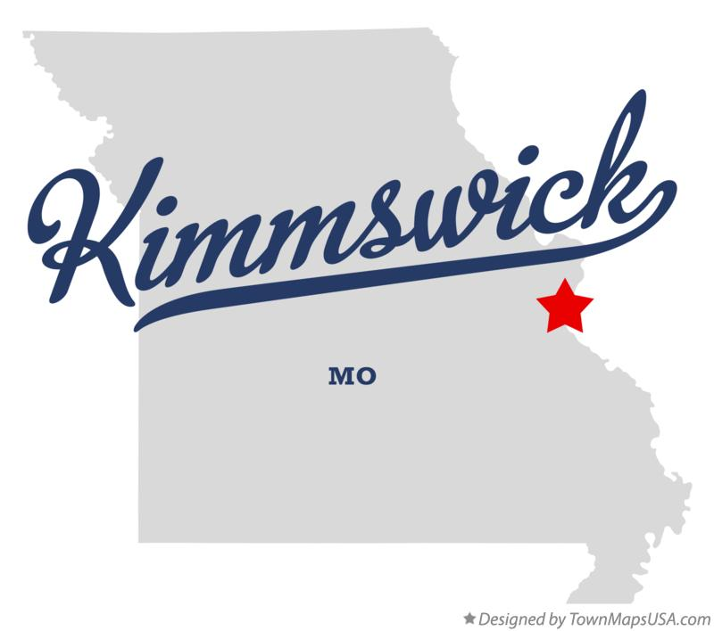 Map of Kimmswick Missouri MO