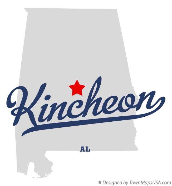 Map of Kincheon Alabama AL