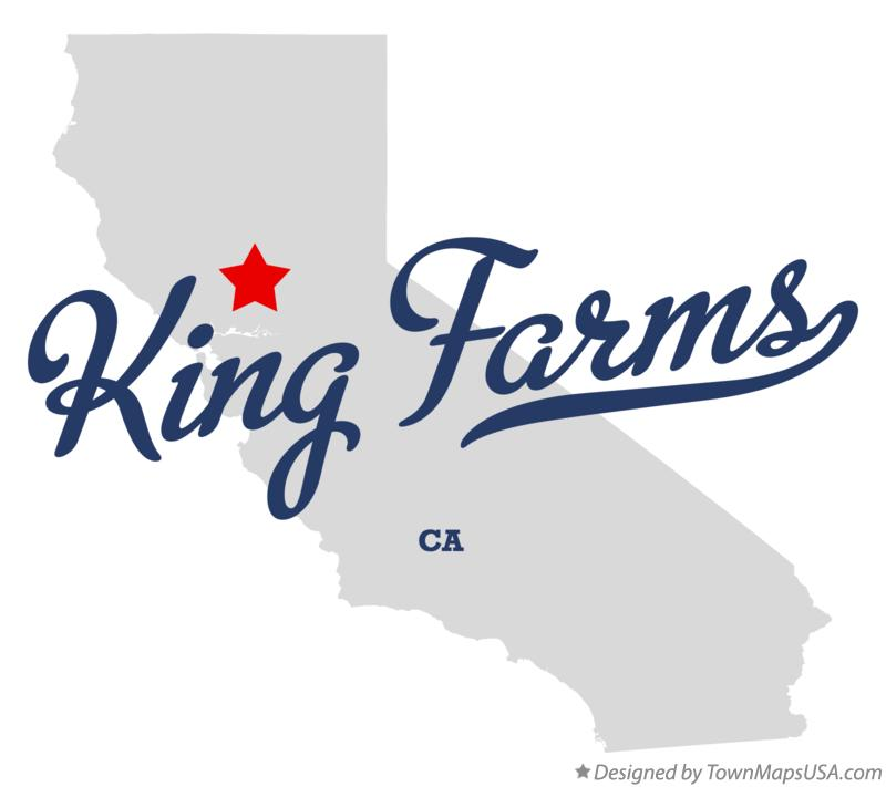 Map of King Farms California CA