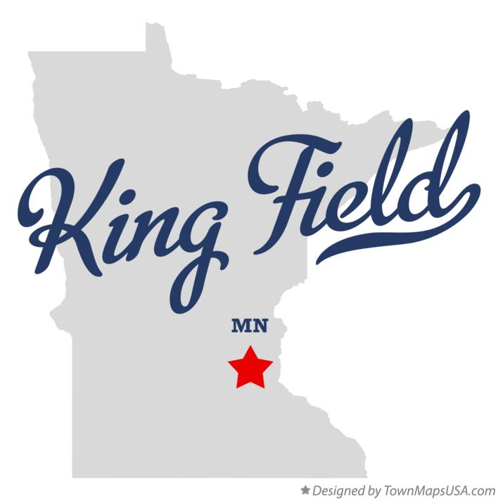 Map of King Field Minnesota MN