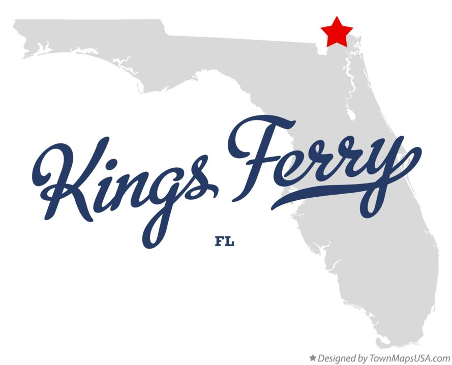 Map of Kings Ferry Florida FL