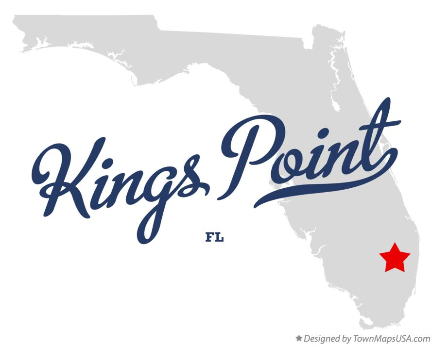 Map of Kings Point Florida FL