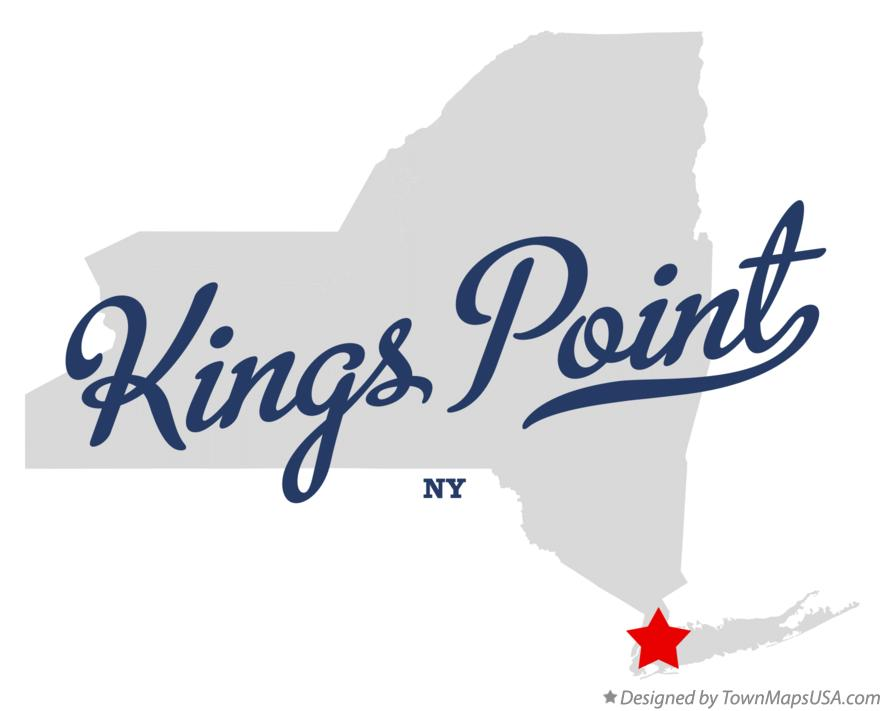Map of Kings Point New York NY