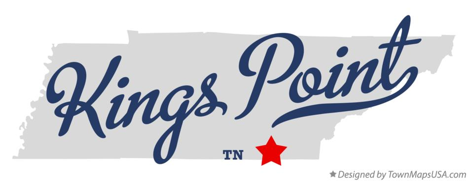Map of Kings Point Tennessee TN