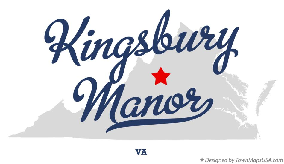 Map of Kingsbury Manor Virginia VA