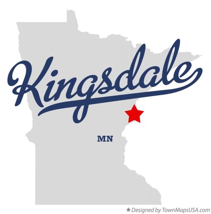 Map of Kingsdale Minnesota MN
