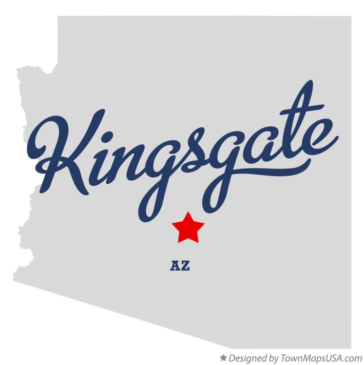 Map of Kingsgate Arizona AZ