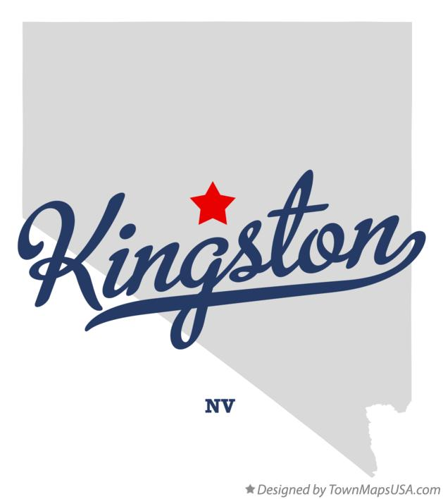 Map of Kingston Nevada NV