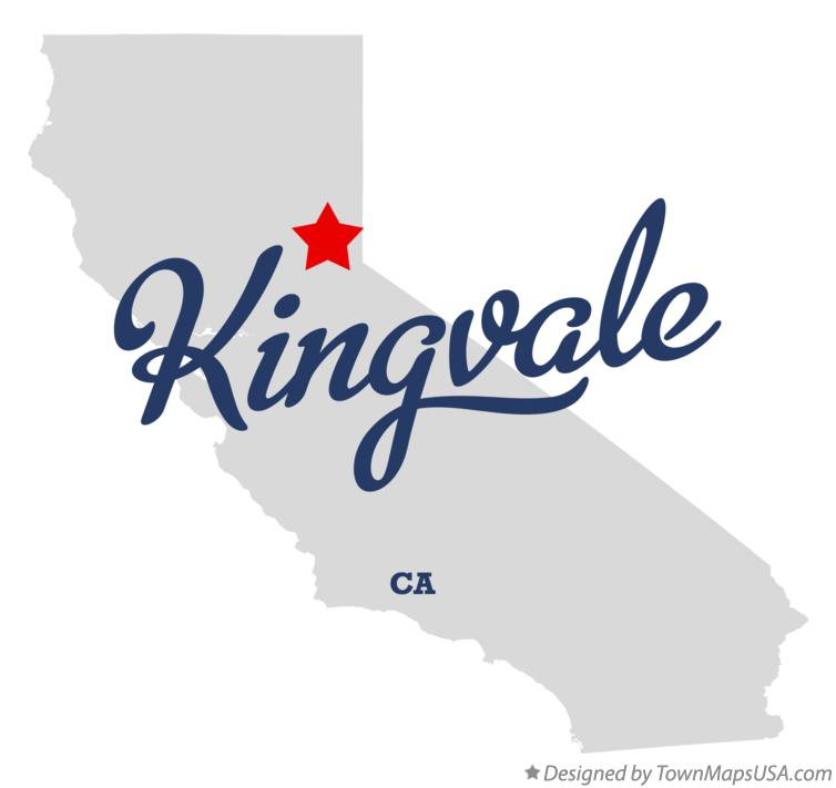 Map of Kingvale California CA