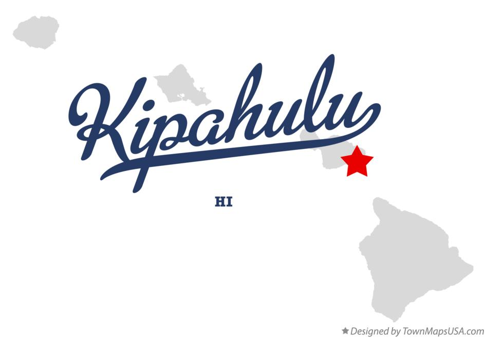 Map of Kīpahulu Hawaii HI