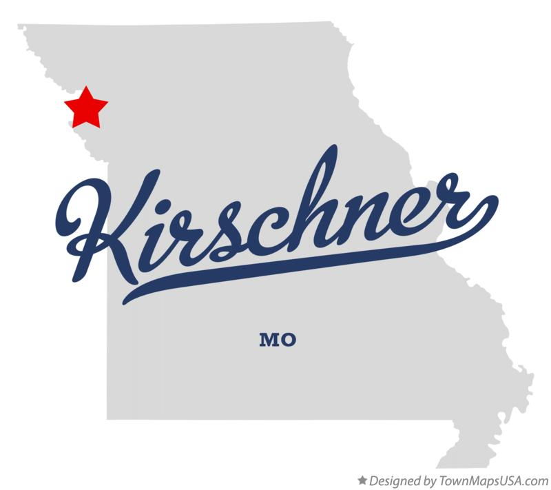 Map of Kirschner Missouri MO