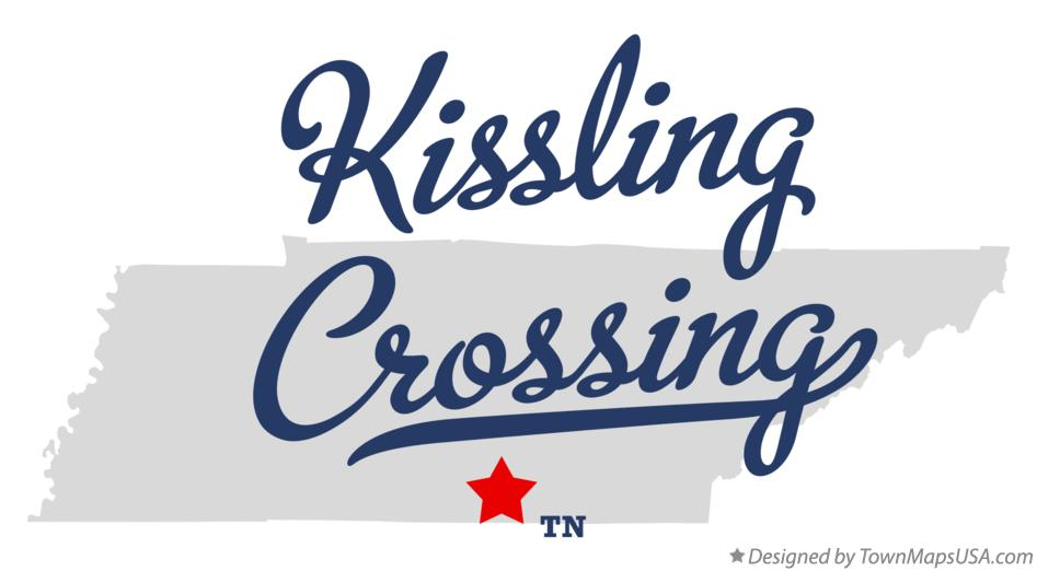 Map of Kissling Crossing Tennessee TN