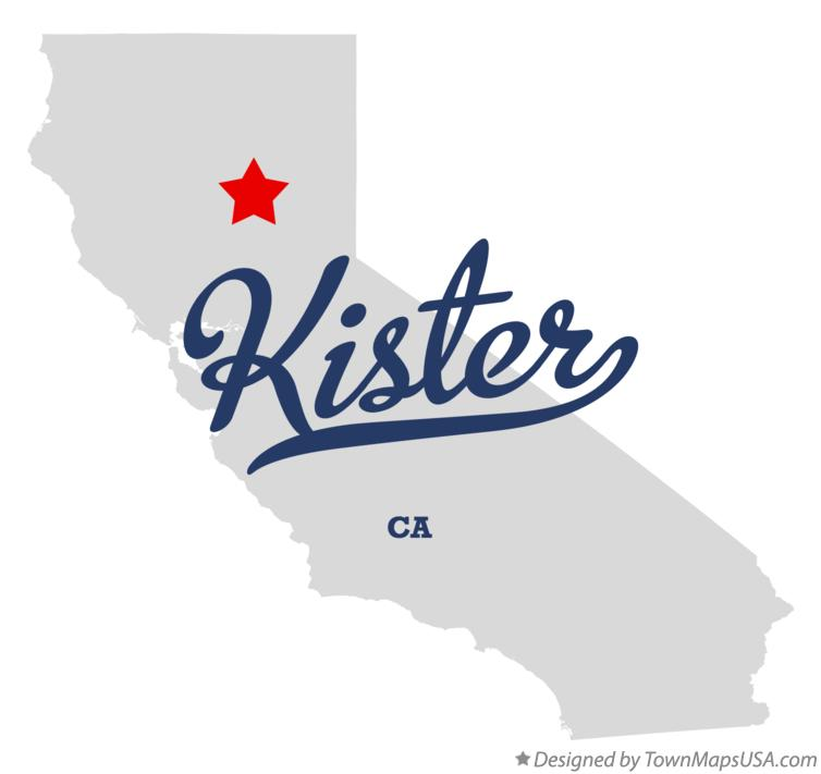 Map of Kister California CA