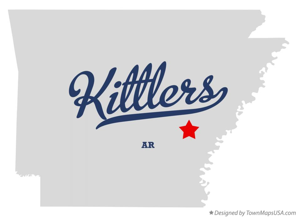 Map of Kittlers Arkansas AR