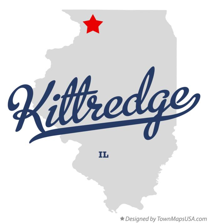 Map of Kittredge Illinois IL