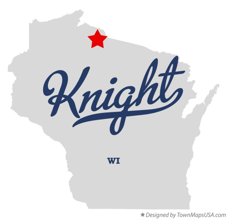 Map of Knight Wisconsin WI