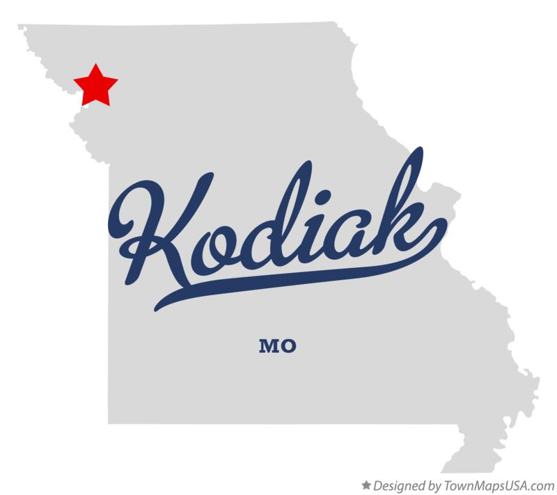 Map of Kodiak Missouri MO