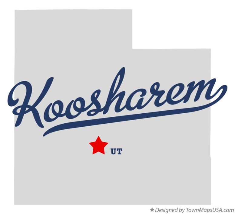 Map of Koosharem Utah UT