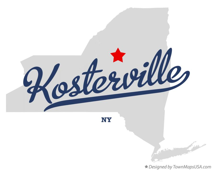 Map of Kosterville New York NY