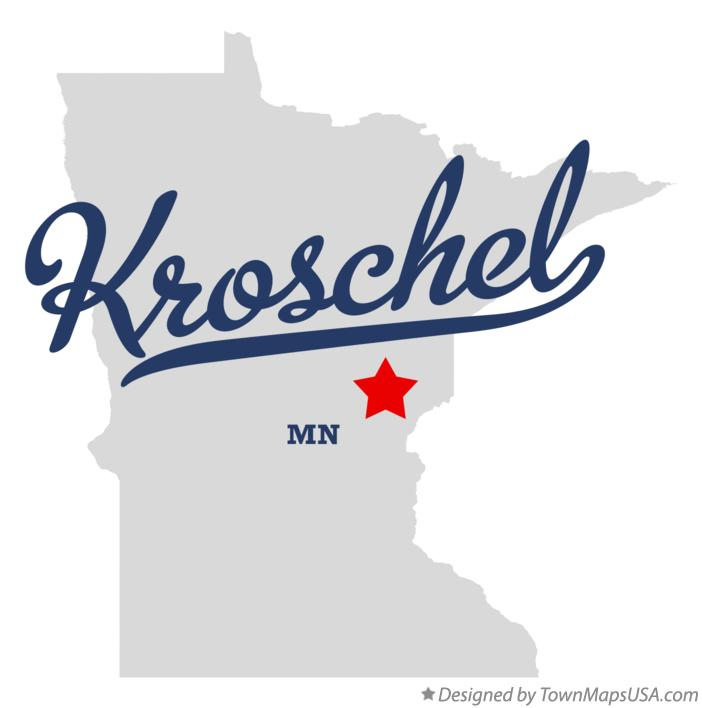 Map of Kroschel Minnesota MN
