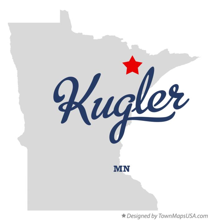 Map of Kugler Minnesota MN