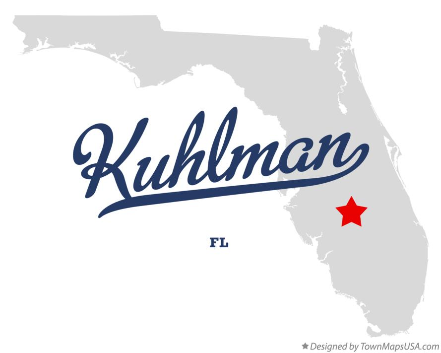 Map of Kuhlman Florida FL