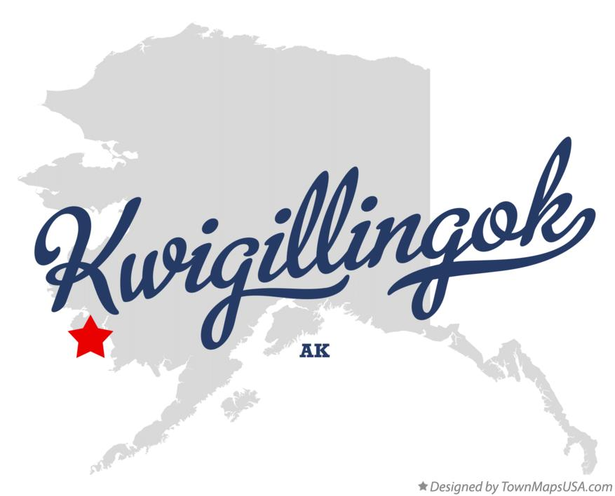 Map of Kwigillingok Alaska AK