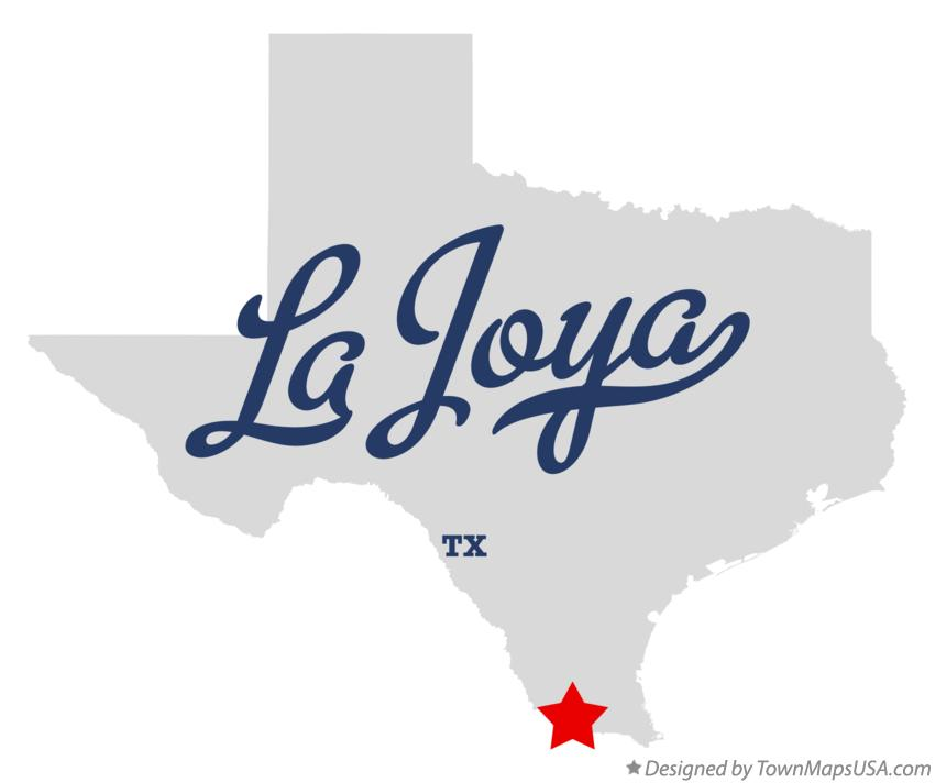 Map of La Joya Texas TX