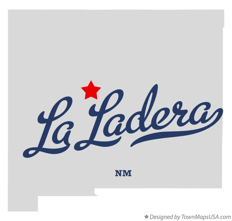 Map of La Ladera New Mexico NM